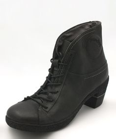 Take a look at this Groundhog Black Midland Bootie by FLY London & groundhog on #zulily today!