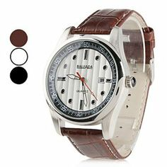 Tanboo Unisex PU Analog Quartz Wrist Watch with Calendar (Assorted Colors) by Tanboo. $10.99. Casual Watches Feature Calendar. Wrist Watches. Women's, Men's Watche. Gender:Women's, Men'sMovement:QuartzDisplay:AnalogStyle:Wrist WatchesType:Casual WatchesFeature:CalendarBand Material:PUBand Color:Brown, BlackCase Diameter Approx (cm):4.5Case Thickness Approx (cm):1.2Band Length Approx (cm):21.3Band Width Approx (cm):2