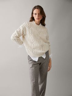 c45df7f586d7 Jumpers & Cardigans - COLLECTION - WOMEN - Massimo Dutti - HONG KONG SAR |  香港