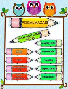 Anyaggyűjtés Ocelot, Kids Learning, Grammar, Diy And Crafts, Literature, Teacher, Education, Literatura, Professor