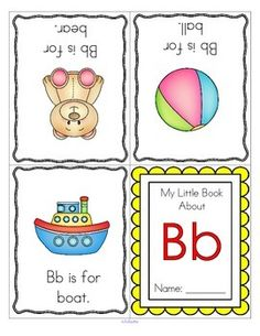 This is a set of 52 alphabet foldable booklets about letters, and initial sounds, 26 in color, 26 in b/w. Each page makes one booklet. Check the first page to see how to fold the booklets. There are 3 pictures for each letter, X has 1 picture. 55 pages