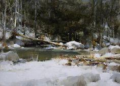 """""""Una armonía de invierno."""" John McCartin"""