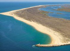 #Deserted beaches in Algarve - Praia da Barreta / Ilha deserta - Faro, #Portugal