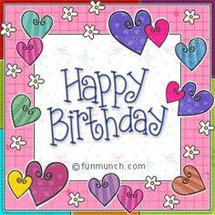 Animated Gif by Barbara_Wyckoff Birthday Wishes Greetings, Birthday Blessings, Happy Birthday Messages, Happy Birthday Quotes, Birthday Greeting Cards, Happy Birthday Clip Art, Birthday Clipart, Happy Birthday Pictures, Birthday Fun