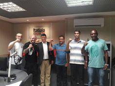 ALEXANDRE GUERREIRO: Os diretores do SINDSISEMG Alex Gomes e Rômulo Ass...