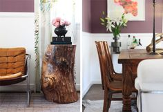 So what do I have to do to get a stump table? I AM NOT KIDDING. And not that West Elm one, either.