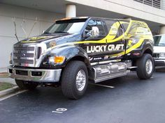 Lucky Craft promotional truck, designed by Extreme Supertruck