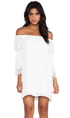 VAVA by Joy Han Celeste Off Shoulder Dress in White | REVOLVE