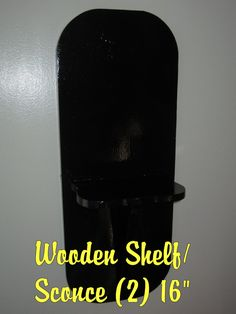 Wooden Wall Sconces I repainted