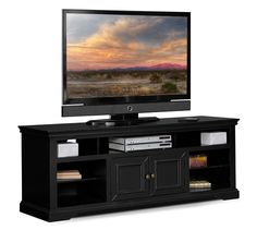 """Jenson Entertainment Wall Units Collection - Value City Furniture-70"""" TV Stand $369.99"""