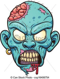 Find Cartoon Zombie Head Vector Illustration Simple stock images in HD and millions of other royalty-free stock photos, illustrations and vectors in the Shutterstock collection. Zombie Drawing Easy, Art Zombie, Zombie Drawings, Zombie Cartoon, Cartoon Drawings, Easy Drawings, Cartoon Art, Zombie Head, Halloween Zombie