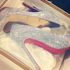 Christian Louboutin - my dream wedding shoes. Soon my pretties soon