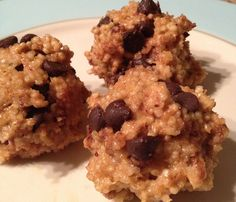 Quinoa Protein Bites- just made these and they are awesome.  Like a nobake cookie but full of good stuff!