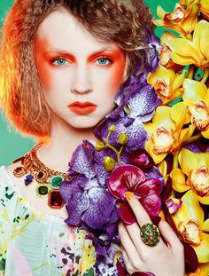 Fotografía de moda  | Orquídeas