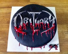 Obituary cake