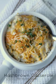 Easy and delicious Hashbrown Casserole just like Cracker Barrel!