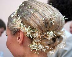 Pixie Dust Bride: {Trends We Love} Baby's Breath Floral hair...