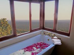 Spend time in the bath while taking in the view Corner Bathtub, South Africa, Holiday, Vacation, Corner Tub, Holidays