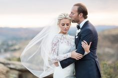 Rich Kids of Beverly Hills stars Morgan Stewart and Brandon Fitzpatrick married on May 7. Their wedding photographer tells The Knot details about the gorgeous nuptials. (Credit: Lucas Rossi Photography)
