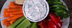 Serve up this easy-to-make dip with crudites and tortilla chips for you next party.