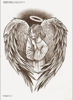 Belagoria   la web de los tatuajes : Tatuajes de ángeles y diseños de regalo