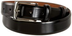 """Cole Haan Webster Belt,Black,40"""" Waist Cole Haan. $65.00. Made in India. Hand Wash. leather. Brass buckle. 1.25"""" wide. Burnished leather"""