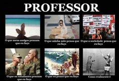 O professor e suas diversas visões