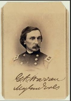 Calling card, Union General GK Warren