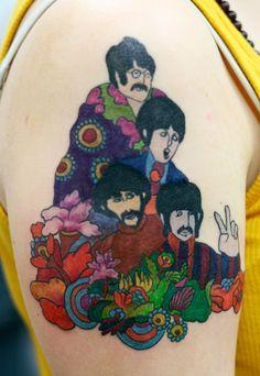 13- beatles tattoo