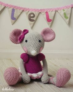 PATTERN  BallerinaMouse crochet amigurumi by lilleliis on Etsy, $6.50