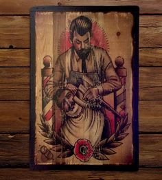 Reclaimed Wood Axe Shave Wall Art by Shipyard Ink on Scoutmob Shoppe