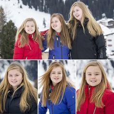Royal Sisters in Lech: Crown Princess Amalia, Princess Alexia and Princess Ariane
