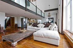 Bright Modern Living Rooms | Home Adore