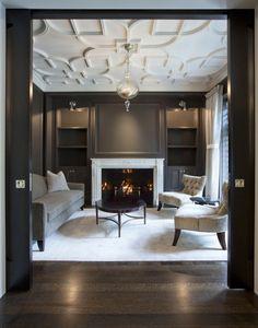 Black sliders and lovely floor