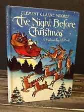 THE NIGHT BEFORE CHRISTMAS: A HALLMARK POP-UP BOOK Clement C Moore Vintage HC