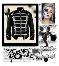 """""""Black Parade MCR outfit"""" by amelievia ❤ liked on Polyvore featuring ASOS"""