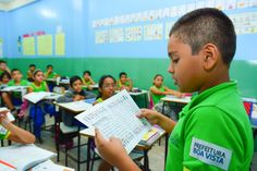 Lê pra mim? Escola municipal inova em projeto de incentivo a leitura  #PrefeituraBoaVista #Roraima #BoaVista #pmbv