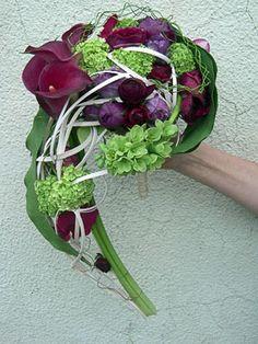 Moniek Vanden Berghe - Page 2 - Floristry: floral popular forum Wedding Flower Design, Purple Wedding Flowers, Bridal Flowers, Floral Wedding, Beautiful Flower Arrangements, Floral Arrangements, Beautiful Flowers, Bouquet Bride, Wedding Bouquets