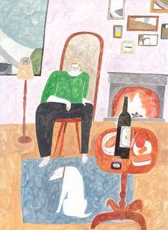 Beautiful illustrations by Kohei Ashino, shared on the blog! http://www.artisticmoods.com/kohei-ashino/
