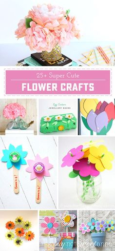 25 adorable flower c