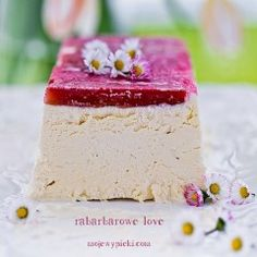 Mini-pavlova z owocami   Moje Wypieki Nigella, Pavlova, Gelato, Vanilla Cake, Cheesecake, Food, Ice Cream, Cheesecakes, Essen