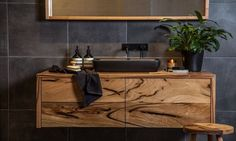 Discover some of amazing custom furniture in Melbourne created by leading designers and made by skilled craftsman. Timber Bathroom Vanities, Oak Bathroom, Bathroom Renos, Laundry In Bathroom, Bathrooms, Master Bathroom, Custom Made Furniture, Furniture Making, Wooden Furniture