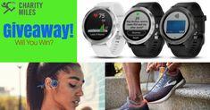 Three People Will Win A Free Garmin, Aftershokz Headphones and Pair of Running Shoes. Running Workouts, Running Tips, Running Shoes, Born To Run, Half Marathon Training, Marathons, Workout Videos, Smart Watch, Charity