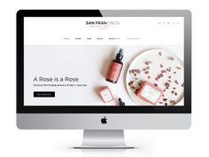 Responsive Theme / San Fran... Latest Instagram, Instagram Posts, Social Integration, Rose Clay, Best Deals Online, Sandbox, Business Advice, Money Saving Tips, Creative Business