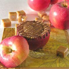 inside out caramel apples.
