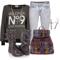 """""""WILDFOX"""" by feathersandroses on Polyvore"""