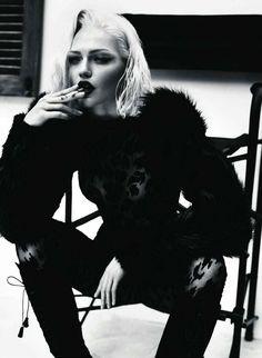 Sasha Pivovarova by Mert & Marcus for Vogue Paris