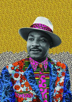 Martin Luther King, African American Art, African Art, American Women, American History, Illustrations, Illustration Art, Arte Latina, By Any Means Necessary