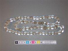 71 rock crystal beads from Birkas Black Earth. Föremål 181622. SHM 5208:2170