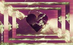 pretty heart art by Alexis Lynnette luvvv